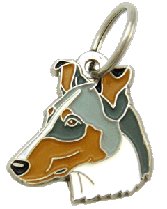 SMOOTH COLLIE BLUE MERLE - pet ID tag, dog ID tags, pet tags, personalized pet tags MjavHov - engraved pet tags online
